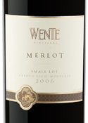 Wente Small Lot Merlot 2006, Arroyo Seco, Monterey County Bottle