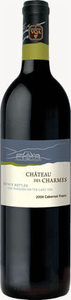 Chateau Des Charmes Estate Cabernet Franc 2008, VQA Niagara On The Lake Bottle