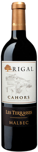 Rigal Les Terrasses Malbec 2009, Cahors Bottle
