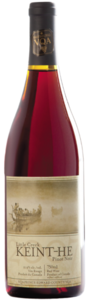Keint He Little Creek Pinot Noir 2007, Prince Edward County Bottle
