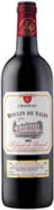 Château Moulin De Sales 2003, Ac Lalande De Pomerol Bottle