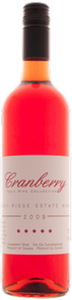 Stoney Ridge Cranberry Wine 2009, Ontario Bottle