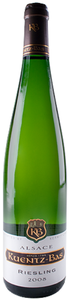 Kuentz Bas Tradition Riesling 2008, Ac Alsace Bottle