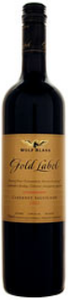 Wolf Blass Gold Label Cabernet Sauvignon 2007, Coonawarra, South Australia Bottle