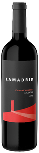 Lamadrid Cabernet Sauvignon 2009, Mendoza Bottle