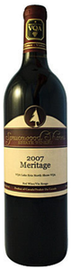 Sprucewood Shores Meritage 2008, Lake Erie North Shore Bottle