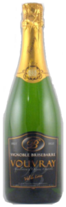 Brisebarre Brut Vouvray, Ac Vouvray, Méthode Traditionelle Bottle