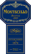 Montecillo Reserva 2003 Bottle