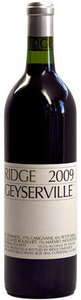 Ridge Geyserville 2009, Sonoma County Bottle