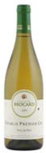 Jean Marc Brocard Chablis Vau De Vey Premier Cru 2009 Bottle