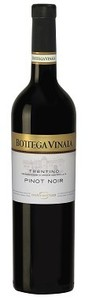 Bottega Vinaia Pinot Noir 2009, Doc Trentino Bottle