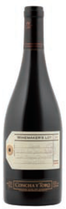 Concha Y Toro Winemaker's Lot 54 Syrah 2008, Los Brujos Vineyard, San Javier Valley, Maule Valley Bottle