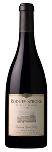 Rodney Strong Estate Pinot Noir 2009, Russian River Valley, Sonoma County Bottle