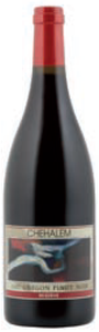 Chehalem Reserve Pinot Noir 2007, Willamette Valley Bottle