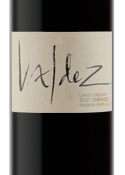 Valdez Landy Vineyard Zinfandel 2007, Russian River Valley, Sonoma County Bottle