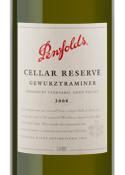 Penfolds Cellar Reserve Gewurztraminer 2008, Woodbury Vineyard, Eden Valley, South Australia Bottle