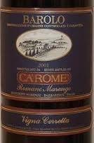 Carome Barolo 2001 2001 Bottle