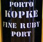 Kopke Full Rich Ruby Port, Douro Valley Bottle