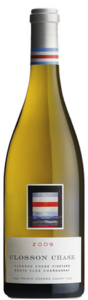 Closson Chase South Clos Vineyard Chardonnay 2009, VQA Prince Edward County Bottle