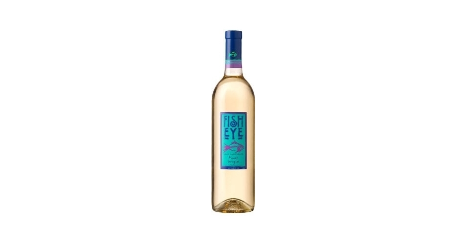 Fish eye pinot grigio 2010 expert wine ratings and wine for Fish eye pinot grigio