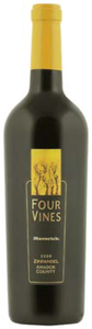 Four Vines Maverick Zinfandel 2008, Amador County Bottle