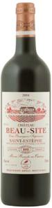 Château Beau Site 2004, Ac Saint Estèphe, Cru Bourgeois Supérieur Bottle