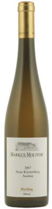 Markus Molitor Haus Klosterberg Riesling Auslese 2007, Qmp Bottle