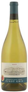Willamette Valley Vineyards Pinot Gris 2009, Willamette Valley Bottle