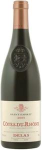 Delas Frères Saint Esprit Côtes Du Rhône 2009, Ac Bottle