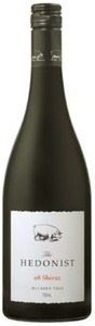 The Hedonist Shiraz 2008, Mclaren Vale, South Australia Bottle