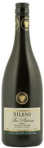 Sileni The Plateau Pinot Noir 2009, Hawkes  Bay Bottle