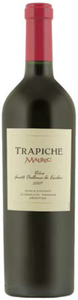 Trapiche Fausto Orellana De Escobar Single Vineyard Malbec 2007, La Consulta, Mendoza Bottle
