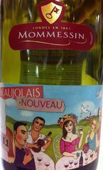 Mommessin Beaujolais Nouveau 2011, Burgundy Bottle