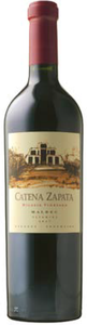 Catena Zapata Nicasia Vineyard Altamira Malbec 2007, Mendoza Bottle