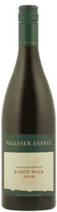 Palliser Estate Pinot Noir 2009, Martinborough, North Island Bottle