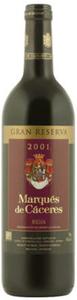 Marqués De Cáceres Gran Reserva 2001, Doca Rioja Bottle