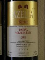 Azelia Barolo Riserva Voghera Brea 2001 Bottle