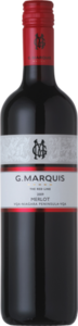 G. Marquis The Red Line Merlot 2009, Niagara Bottle