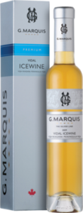 G. Marquis The Silver Line Vidal Icewine 2009, VQA Niagara Peninsula (375ml) Bottle