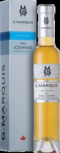 G. Marquis The Silver Line Vidal Icewine 2009, VQA Niagara Peninsula (375ml) Bottle