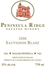 Peninsula Ridge Sauvignon Blanc 2009, Niagara Peninsula Bottle