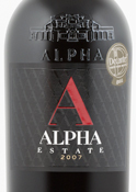 Alpha Estate Red 2007, Regional Wine Of Florina Bottle