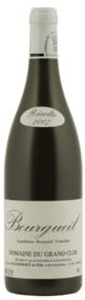 Maison Audebert & Fils Domaine Du Grand Clos Bourgueil 2007, Ac Bottle