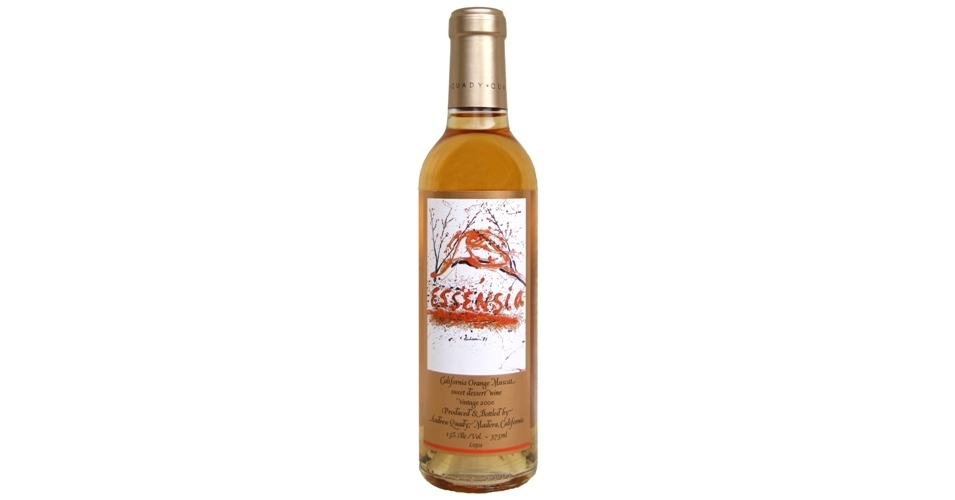 quady essensia orange muscat 2010 expert wine ratings and wine reviews by winealign