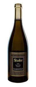 Shafer Red Shoulder Ranch Chardonnay 2009, Carneros, Napa Valley Bottle
