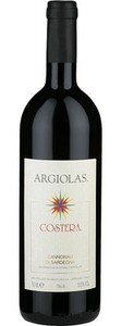 Argiolas Costera 2009, Doc Cannonau Di Sardegna Bottle