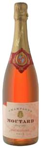 Moutard Père & Fils Brut Rosé De Cuvaison Champagne, Ac, France Bottle