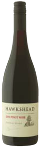Hawkshead Pinot Noir 2008, Central Otago, South Island Bottle