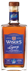 Wiser's Legacy Canadian Whisky Bottle