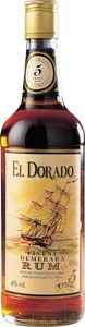 El Dorado 5 Year Old Rum, Guyana Bottle